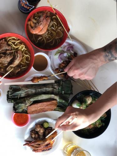 Najchutnejšie polievky na singapurskej tržnici