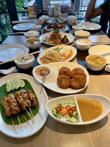 Bangkok skvelá večera